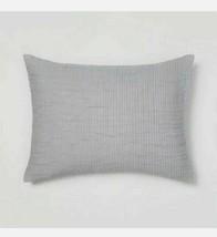 "Opalhouse Standard Gauze Pillow Sham Gray Sky -  20"" x 26"" NWT*clearance   image 1"