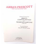 Arban-Prescott for Trombone/ Baritone Method Book - 1st & 2nd Year - $16.50