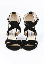 Jimmy Choo Louise Suede Strappy Sandals SZ 38 image 2