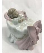 Lladro A New Treasure - Baby Girl 6977 Figurine - $94.99