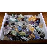 Crafters Rock Collection 1 Lb Mix Gems Crystals Natural Mineral Specimens - $48.95