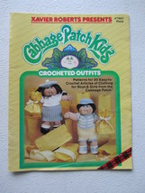 Cabbage Patch Kids Crocheted Outfits Pattern Booklet Plaid #7867, 1985 - $6.50