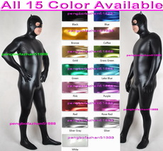 Sexy Cat Suit Outfit Sexy 15 Color Shiny Metallic Catsuit Costumes Unise... - $39.99
