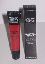 MAKE UP FOR EVER 1 RED FULL COULEUR EXTREME SHINE LIP GLOSS, MSRP $20 - $9.75