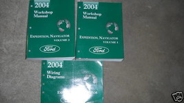 2004 FORD EXPEDITION & LINCOLN NAVIGATOR Shop Repair Service Manual SET ... - $138.59