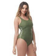Ruched One Piece by Sea & Sand Beachwear - $34.99