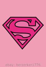 Supergirl Superman 3'x5' Pink vertical Flag DC Comics batman Joker USA S... - $25.00