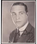 Actor Ricardo Cortez Original  Signed Photo Autograph Maltese Falcon - $124.75