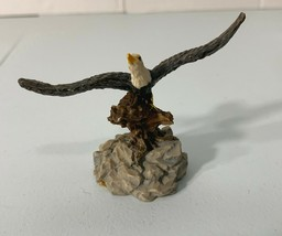 """American Eagle Wings Outstretched Resin Figurine Statue 2 1/2"""" Tall Decor - $9.95"""