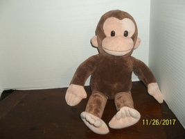 "applause russ crurious george monkey plush 18"" tall - $9.99"