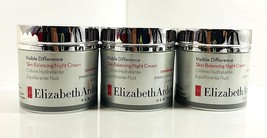 Elizabeth Arden Visible Difference Gentle Hydrating Night Cream - 1.7 oz 3 Lot  - $28.04