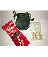 Marlboro Poker Dice with Leather Pouch & Instructions - GUC - $8.91