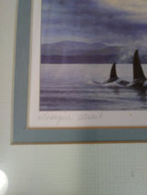 "James Wiens ""Georgia Strait""  New 11""X 14""  BC Canada "" Orcas"" Art Life Painting image 3"