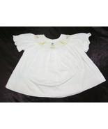 Vive La Fete Baby Girl Pink Smocked Dress Noahs Noah's Ark Reborn Doll 0-3 - $34.64