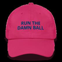 Run the Damn Ball hat / run the Damn Ball / Cotton Cap image 7