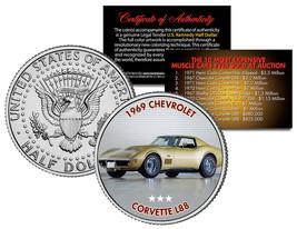 1969 CHEVROLET CORVETTE L88 Expensive Auction Muscle Car JFK Half Dollar... - $8.56