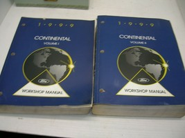 1999 Ford Lincoln Continental Workshop Repair Manual Vol 1+2  - $39.60