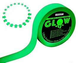 Best Glow in the Dark Tape for Safety, Stairs, Light Switches, Stage, Th... - $16.31