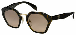 Prada Sunglasses PR04TS 2AU3D0 55 Havana Frame  Brown Gradient Lens - $391.05