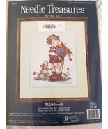 "Needle Treasures Counted Cross Stitch M.I Hummel ""Not For You"" Kit  8""X10"" - $39.59"