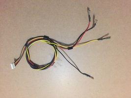 Speakers Cable From Toshiba 37HL67S Chassis TAC0750 Lcd Tv - $8.99