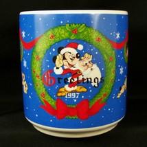 Disney Mickey Mouse 1947 Art Mug NIB 1997 Santa Christmas Ltd Ed 1/7500 ... - £11.67 GBP