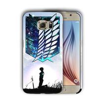 Attack on Titan Eren Yeager Galaxy S4 5 6 7 Edge Note 3 4 5 Plus Case Co... - $245,85 MXN+