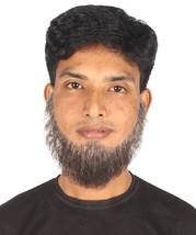 Men's Chin Curtain Style Long Beard Set   Mixed Gray Cosplay Beard M-1219 - £19.72 GBP