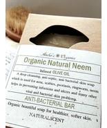 Organic Natural Neem Olive Oil  Anti-septic Healthier Skin & Shampoo Bar - $3.60