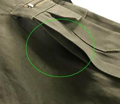 Men's Classic Elastic Waist Military Multi Pocket Army Style Cargo Pants - XS image 2