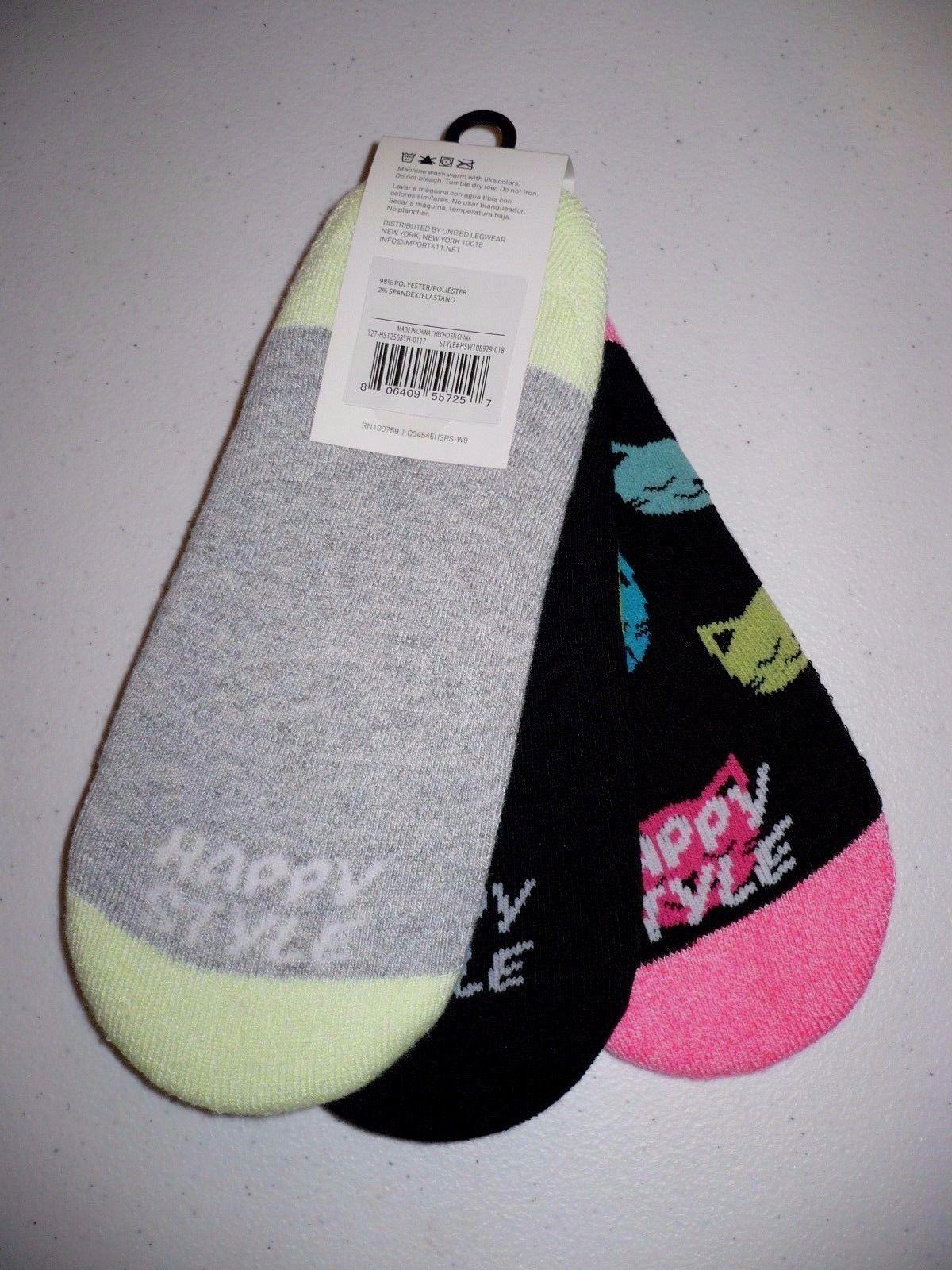 Style Socks No Show Sport Liner Socks