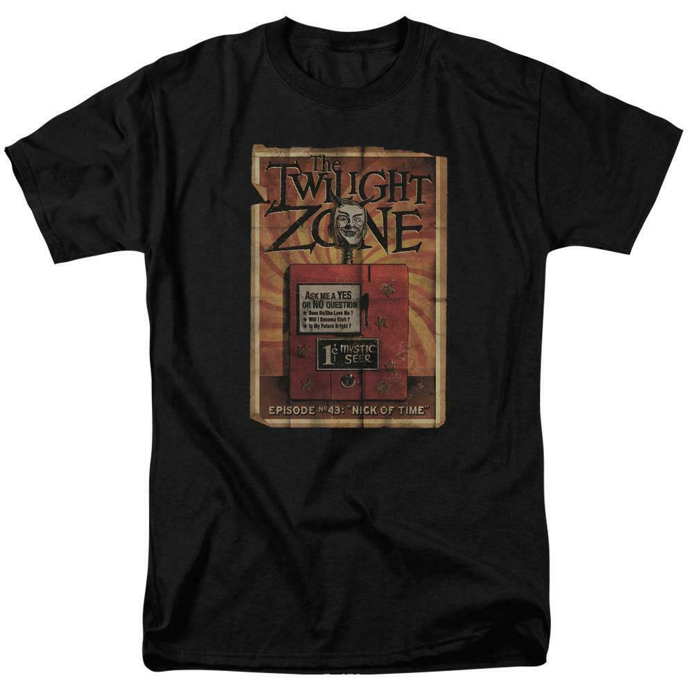 """The Twilight Zone t-shirt Episode No 42 """"Nick of Time"""" graphic tee CBS1243"""