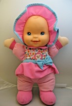 Goldberger Baby's First Giggles Baby Girl Doll Laughing Baby Doll Good Condition - $12.86