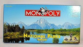 Monopoly National Parks Edition 8 collectible Pewter Tokens Complete 1998 - $35.99