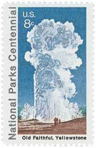 1972 8c Old Faithful Scott 1453 Mint F/VF NH