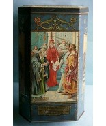 Early English Lozenges Tin Depicting 2 Plays by Wm. Shakespeare by Victo... - $61.75