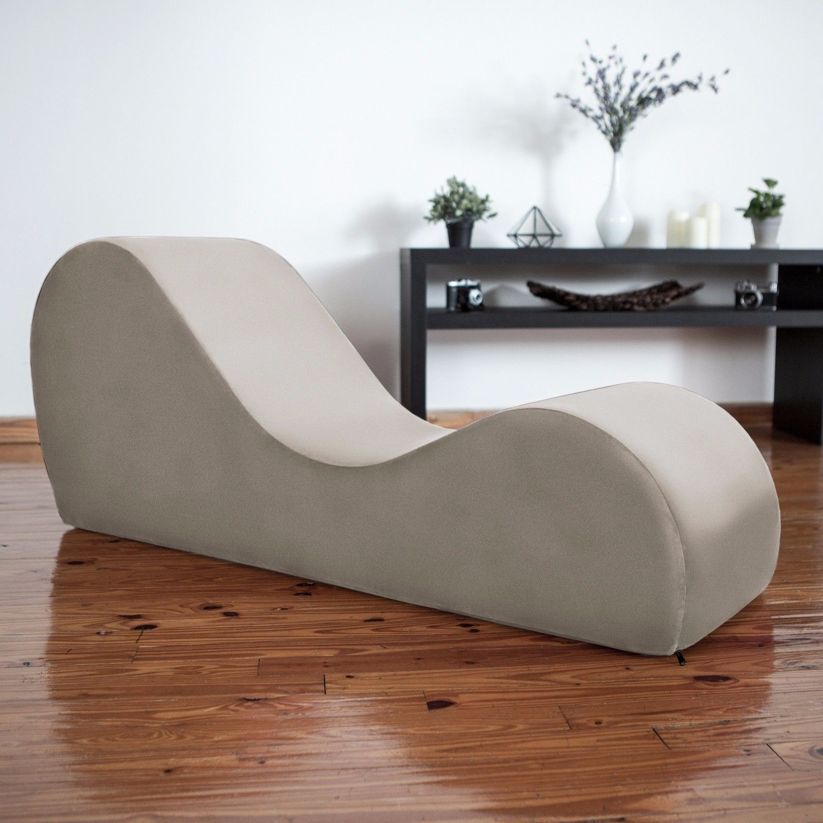Liberator kama sutra chaise tantra lounger champagne for Furniture yoga