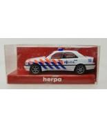 MB C Klasse Police Politie Herpa 1998 001385 1:87 Vintage - $9.89