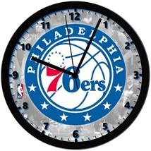 "Philadelphia 76ers LOGO Homemade 8"" NBA Wall Clock w/ Battery Included - $23.97"