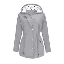 BBX Lephsnt Rain Jacket Waterproof Active Outdoor Hooded Women's Trench ... - $53.80