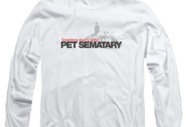Stephen Kings Pet Sematary Retro 80's Horror long sleeve graphic t-shirt PAR293 image 3
