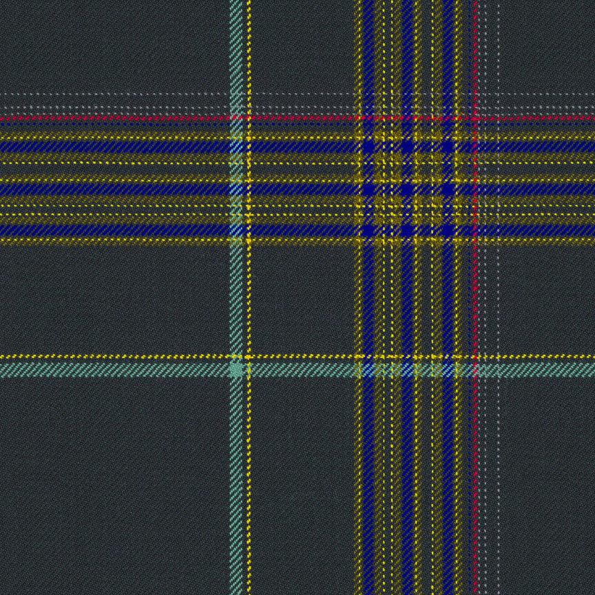 1.25 yds Maharam Upholstery Fabric Paul Smith Mingled Plaid Cadet 466364–004 PI