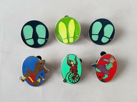 Disney Trading Pins Official Acrobat Theme Hidden Mickey Collectible Lot... - $18.59