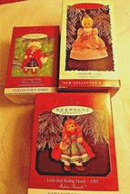 Madame Alexander Ornaments Lot of 3 Hallmark Keepsake Little Red Riding ... - $29.99