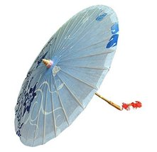 [Decorative Pattern] Rainproof Handmade Chinese Oil Paper Umbrella 33 inches