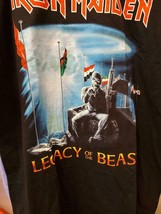New IRON MAIDEN LEGACY OF THE BEAST 2019 NORTH AMERICAN TOUR  LICENSED T... - $22.76+