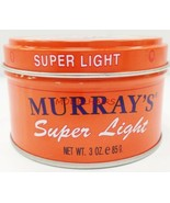 MURRAY'S SUPER LIGHT POMADE FOR CLEAN NEAT LOOK STYLE SHINE 3oz 버려요 - $3.55