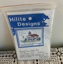 Brand New Hilite Design Counted Cross Stitch Kit 256 Grand Traverse Ligh... - $11.49