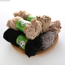 10 Pairs Women Velvet Socks Socks Summer Crystal Sock Thin Silk Transparent - $2.84