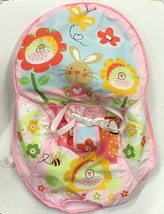Fisher Price Bunny Infant Toddler Rocking Bouncy Seat REPLACEMENT seat c... - $19.75